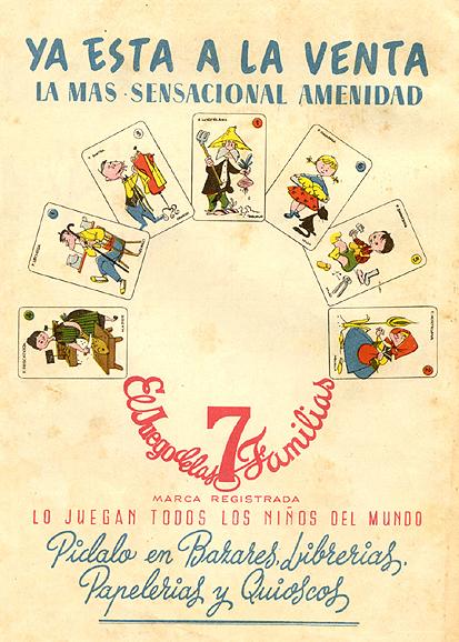 Juguetes cartasfamilias 1959 - Caligrama Comunicación