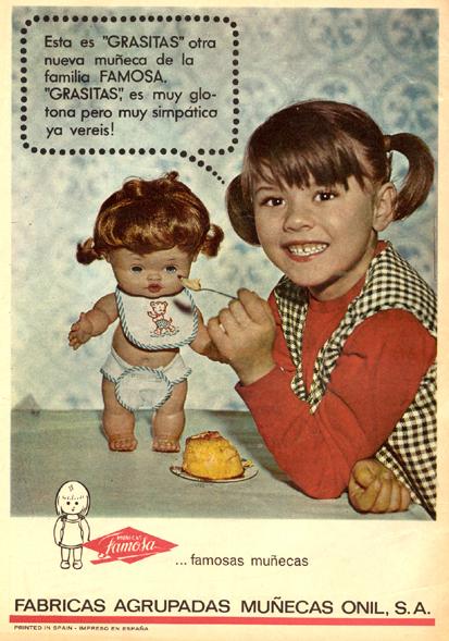 Juguetes famosagrasitas 1966 - Caligrama Comunicación