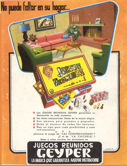 Juguetes reunidos 1958 - Caligrama Comunicación