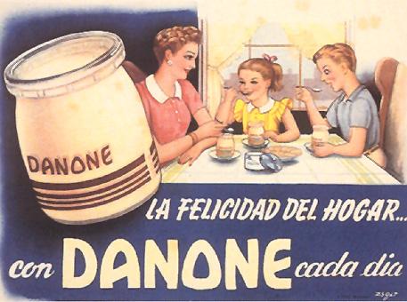 alimentacion danone 1944 - Caligrama Comunicación
