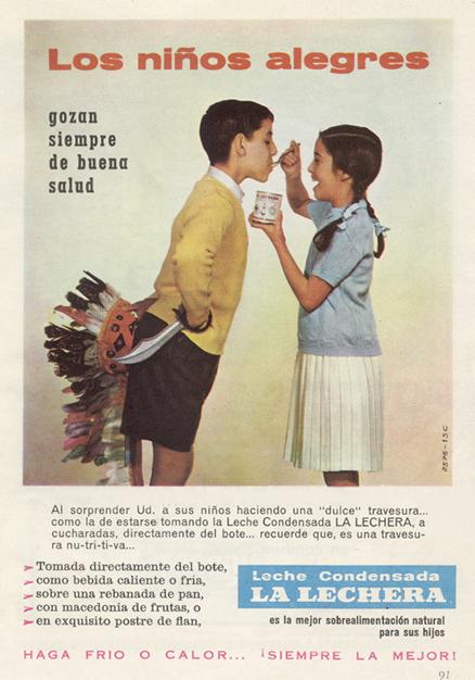 alimentacion lalechera 1959 - Caligrama Comunicación