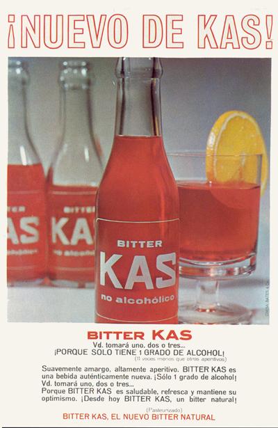 Bebidas bitterkas 1966 - Caligrama Comunicación
