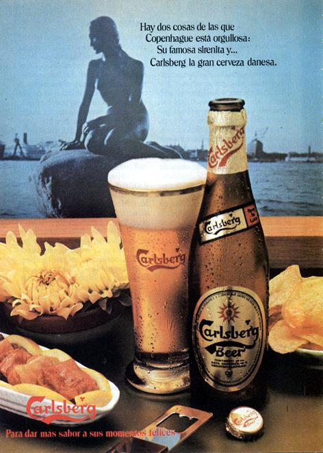 Bebidas casberg 1978 - Caligrama Comunicación