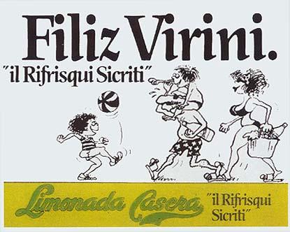 Bebidas casera 1985 - Caligrama Comunicación