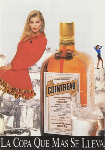 Bebidas cointreau 1988 - Caligrama Comunicación