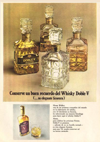 Bebidas doblev 1975 - Caligrama Comunicación