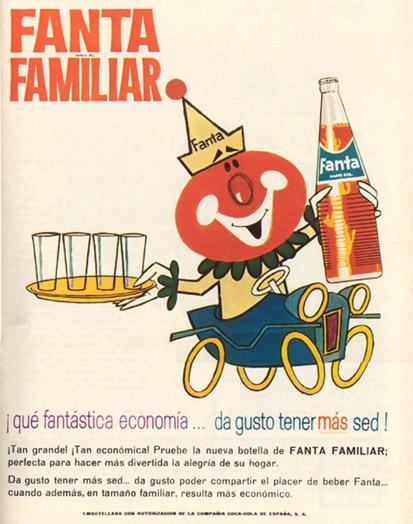 Bebidas fanta 1967 - Caligrama Comunicación