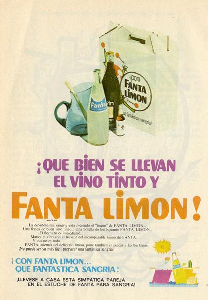 Bebidas fanta 1969 - Caligrama Comunicación