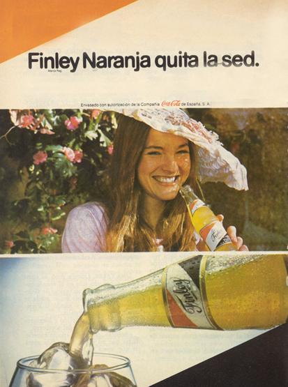 Bebidas finley 1980 - Caligrama Comunicación