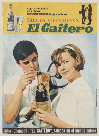 Bebidas gaitero 1965 - Caligrama Comunicación