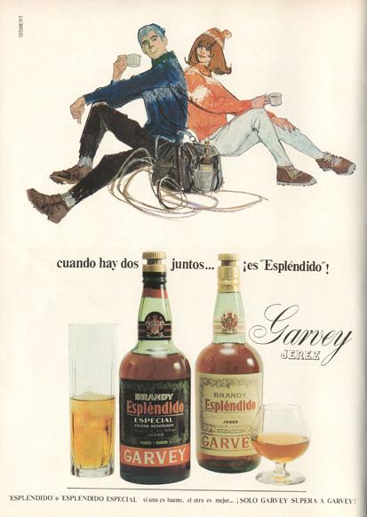 Bebidas garvey 1969 - Caligrama Comunicación