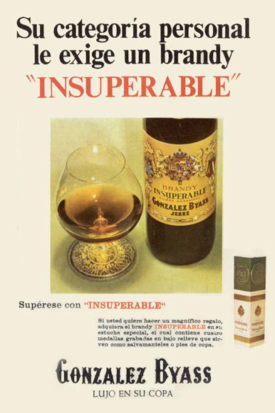 Bebidas gonzalezbyass 1967 - Caligrama Comunicación