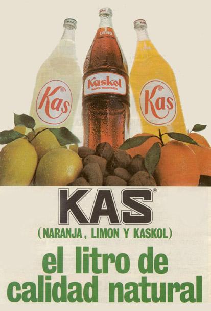 Bebidas kas 1973 - Caligrama Comunicación