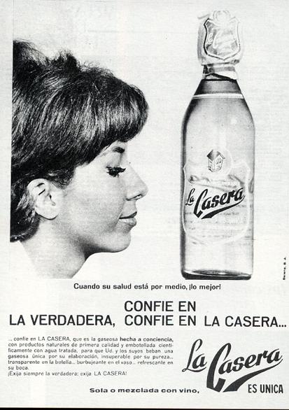Bebidas lacasera 1965 - Caligrama Comunicación