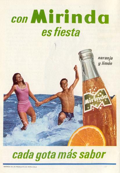 Bebidas mirinda2 1966 - Caligrama Comunicación