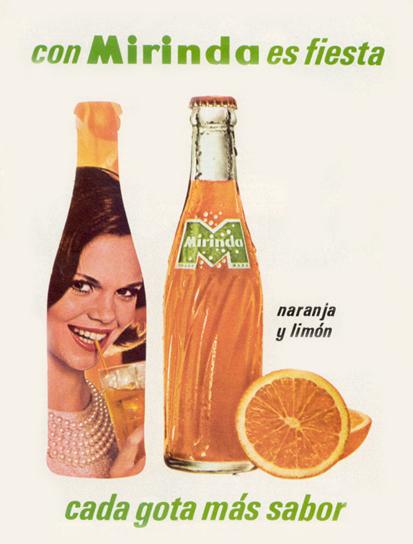 Bebidas mirinda 1966 - Caligrama Comunicación