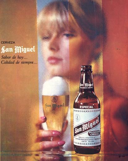 Bebidas sanmiguel 1966 - Caligrama Comunicación