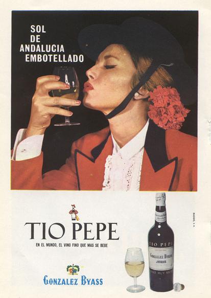 Bebidas tiopepe 1964 - Caligrama Comunicación