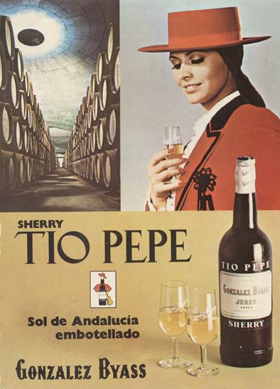 Bebidas tiopepe 1972 - Caligrama Comunicación