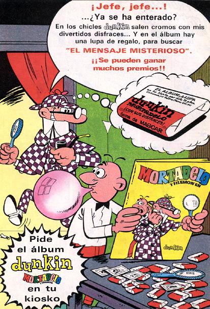 dulces dunkin 1971 - Caligrama Comunicación