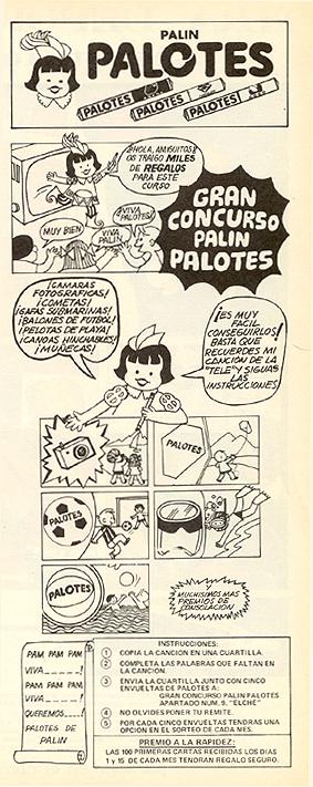dulces palotes 1970 - Caligrama Comunicación