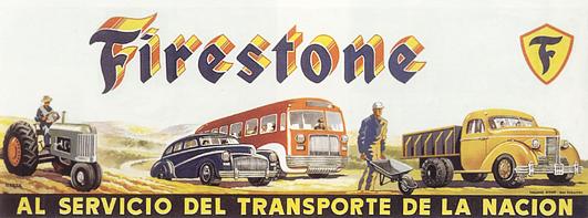 motor firestone 1950 - Caligrama Comunicación