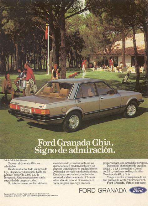 motor fordgranada 1983 - Caligrama Comunicación