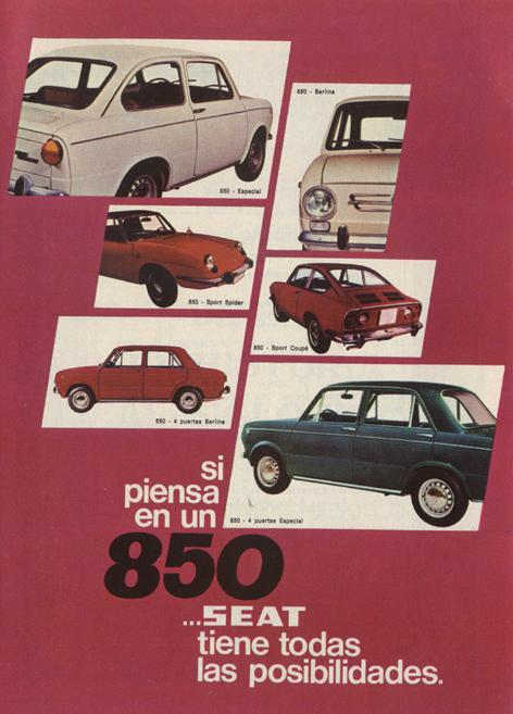 motor seat850 1971 - Caligrama Comunicación