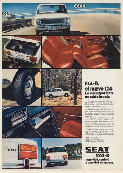 motor seat 1971 - Caligrama Comunicación