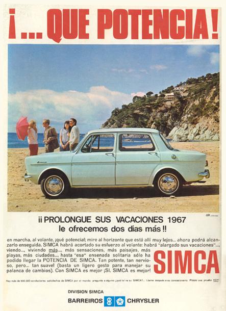 motor simca 1967 - Caligrama Comunicación