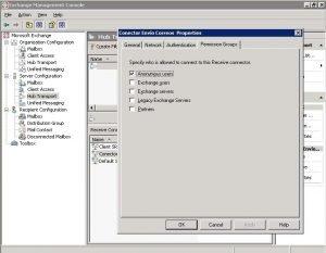 Asignar permisos SMTP en entorno EDK7