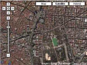 Obtener la longitud y latitud de un lugar con Google Maps