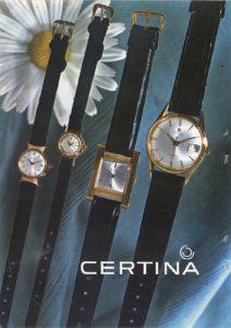 Lee más sobre el artículo Relojes Certina (1964)
