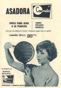 Sartén plancha «Carmela» (1965)