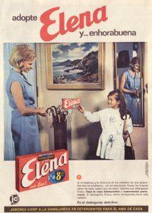 Lee más sobre el artículo Detergente Elena (1965)