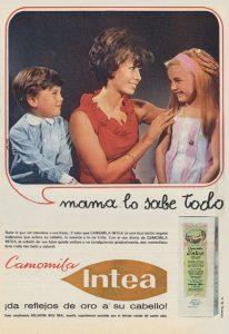 Lee más sobre el artículo Locion Capilar Camomila Intea (1965)