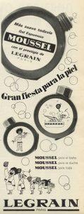 Lee más sobre el artículo Gel Moussel (1965)