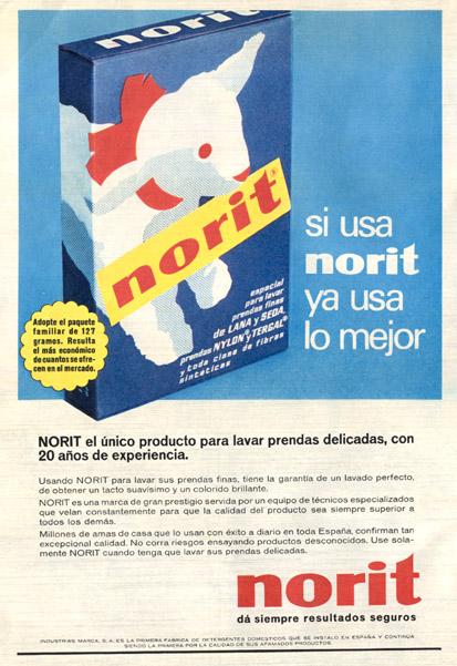 Detergente Norit (1965)