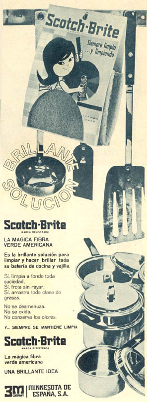 Estropajo Scotch-Brite (1965)