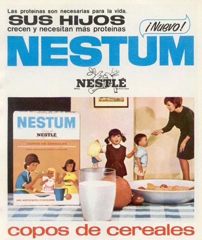 Cereales Nestum de Nestlé (1966)