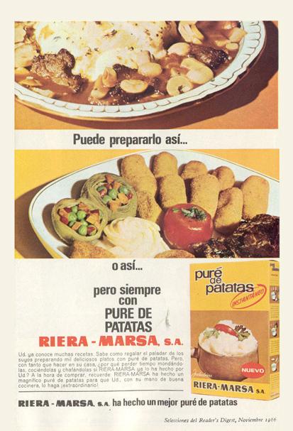 Puré de Patatas Riera-Marsa (1966)