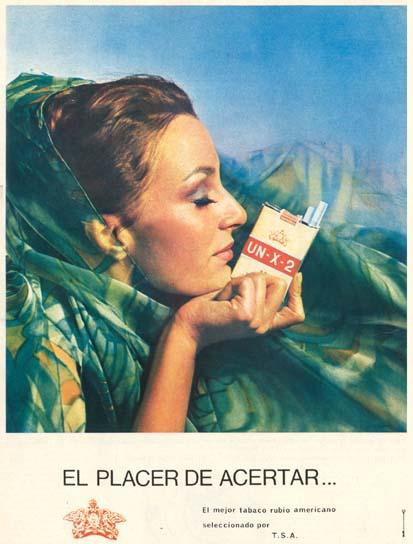 Cigarrillos UN-X-2 (1967)