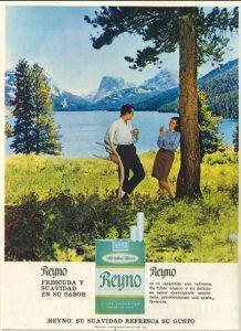 Lee más sobre el artículo Cigarrillos mentolados Reyno (1967)
