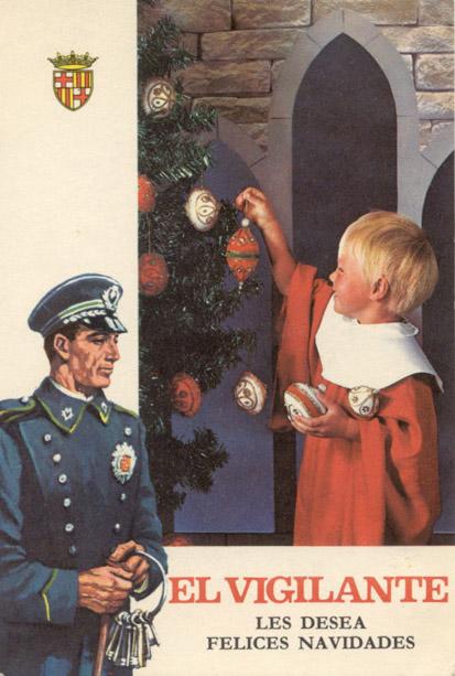 Felicitación Navidad Sereno (1969)