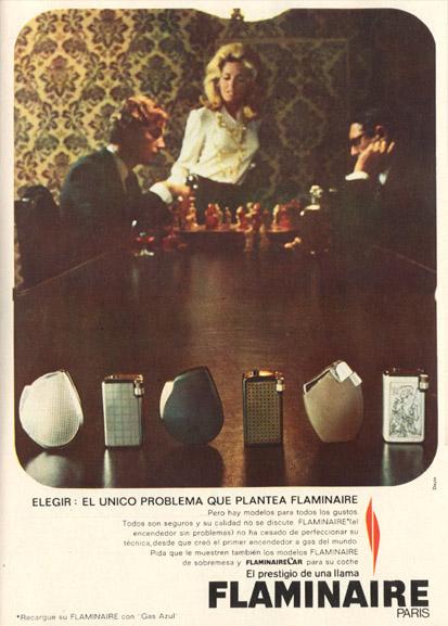 En este momento estás viendo Encendedores Flaminaire (1969)