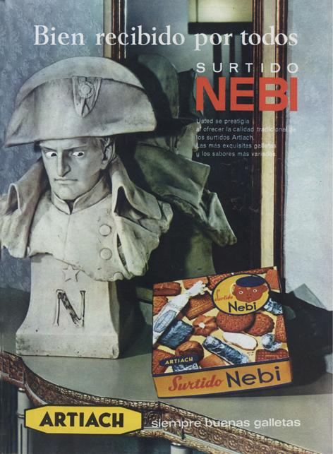 Galletas Surtido Nebi de Artiach (1969)