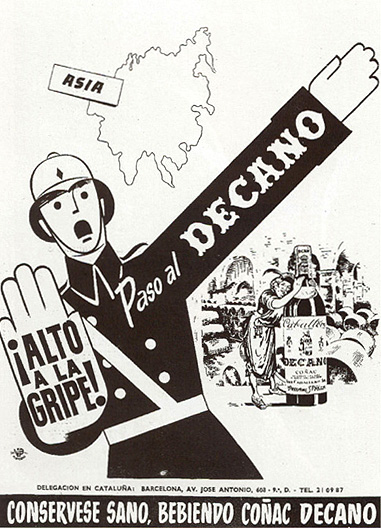 Coñac Decano (1957)
