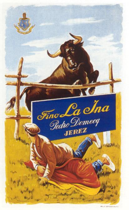 Fino La Ina, de Domecq (1945) 1