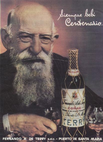 Coñac Terry Centenario (1958)