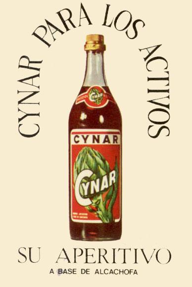 Aperitivo de Alcachofa Cynar (1974)
